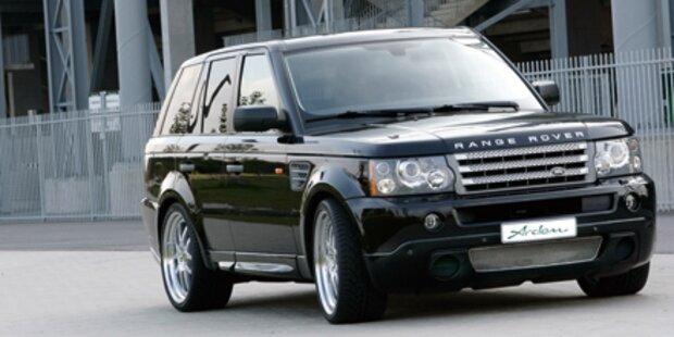 Luxusautos um 300.000 Euro gestohlen