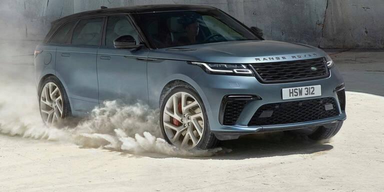Range Rover bringt neues Velar Top-Modell