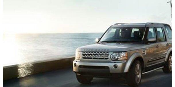 Land Rover ruft 1.330 Fahrzeuge zurück