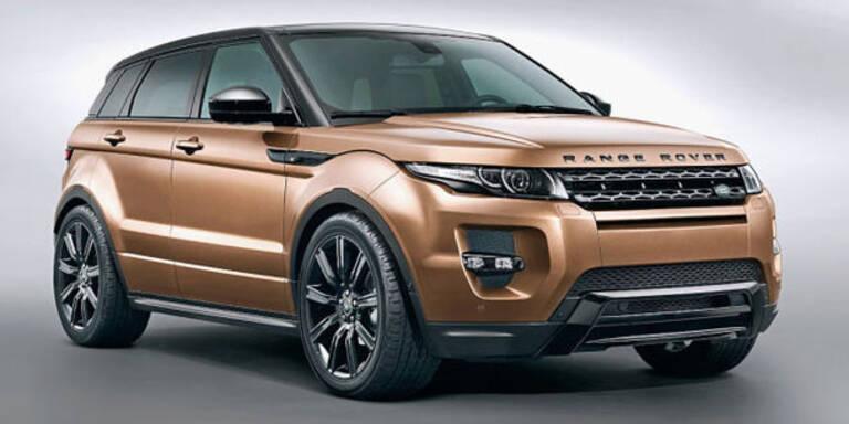 Mini-Facelift für den Range Rover Evoque