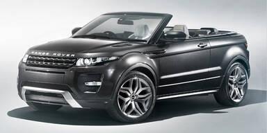 Range Rover Evoque als Cabrio