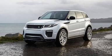 Facelift für den Range Rover Evoque