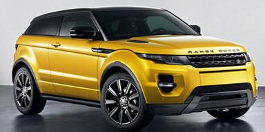 """Range Rover Evoque in der """"Yellow Edition"""""""