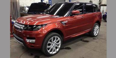 Fotos vom Range Rover Sport aufgetaucht