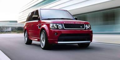 Sportliche Sondermodelle von Land Rover