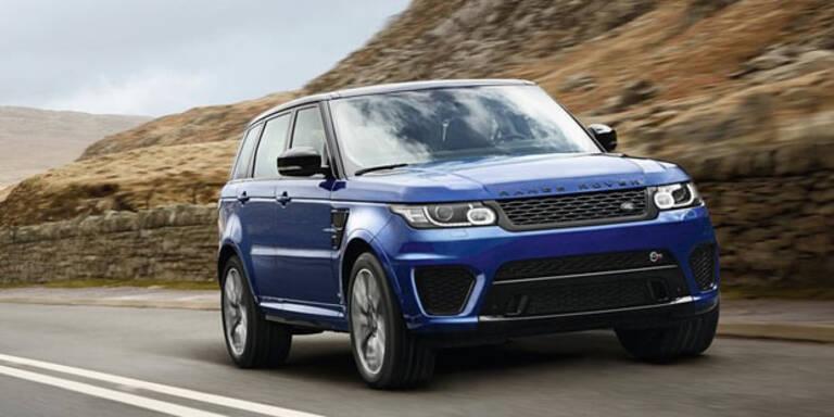 Das ist der Range Rover Sport SVR