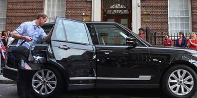 Prinz Williams Range Rover unterm Hammer