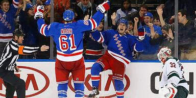 Siege für Rangers und Canucks