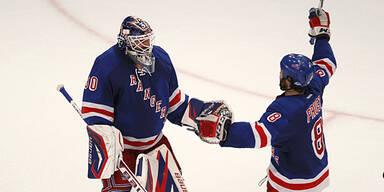 Rangers, Devils als letzte Teams weiter