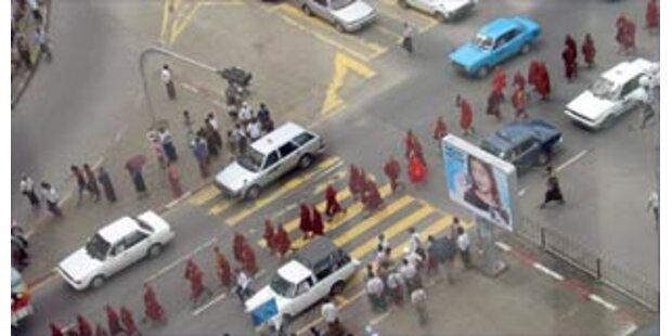 Chronologie der Proteste in Burma