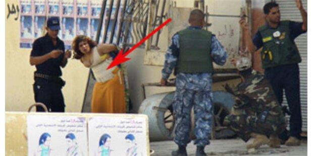 Terroristen schnallen 13-Jähriger Bombe um