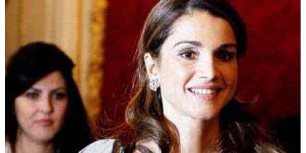 Königin Rania von Jordanien verzaubert Wien