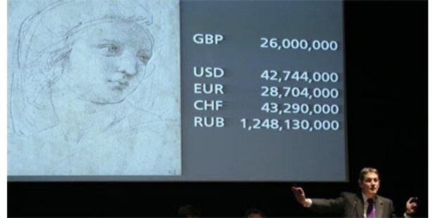 Rembrandt, Raffael mit Rekordpreisen