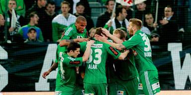 Bundesliga: Rapid und Salzburg atmen auf
