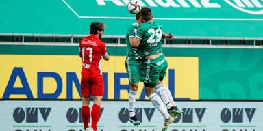 Rapid gegen Salzburg