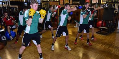 Box-Training:  Rapidler knallhart