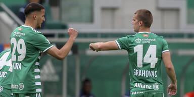 3:0 gegen Horn: Rapid gelingt Generalprobe für Liga-Neustart
