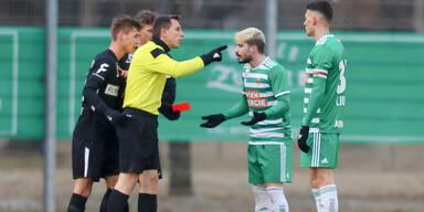 Rapid gewinnt Test gegen Admira - Fountas droht Sperre