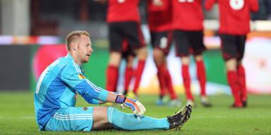 Die besten Bilder von Rapid vs. Leverkusen