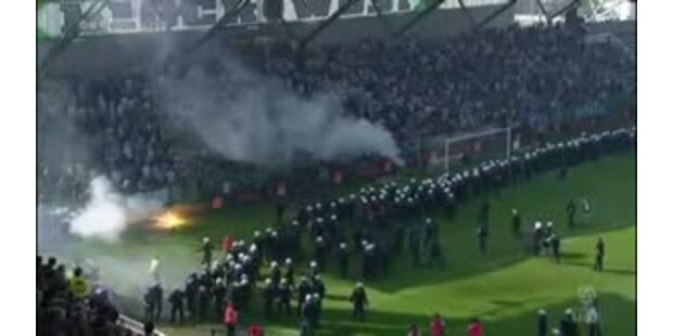 Bürgerkrieg beim Wiener Derby