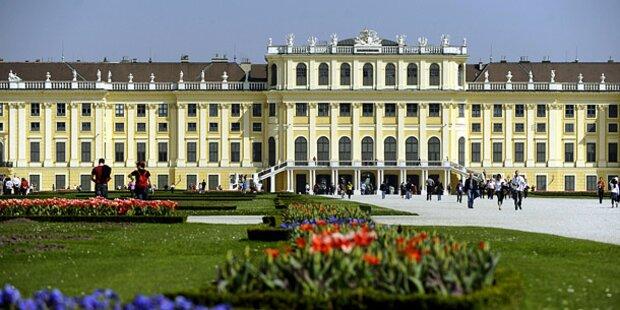 Neuer Besucherrekord im Schloss Schönbrunn