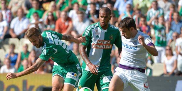 0:0! Rapid und Austria mit müdem Derby-Kick