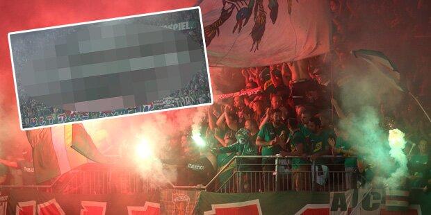 Rapid-Fans wüten gegen den ORF