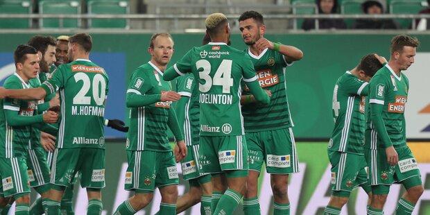 ÖFB-Cup: Hammer-Los für Rapid im Achtelfinale