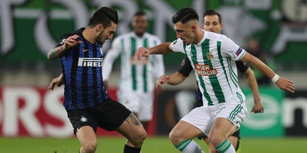 0:1 - Rapid verpasst Sensation gegen Inter