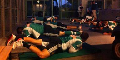 Rapid: Training im Morgengrauen