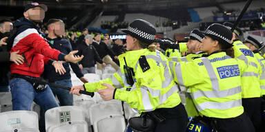 Drei Festnahmen bei Rapids West-Ham-Hit