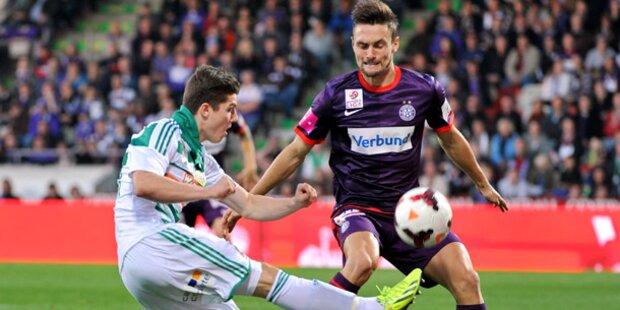 Rapid gewinnt Wiener Derby bei Austria