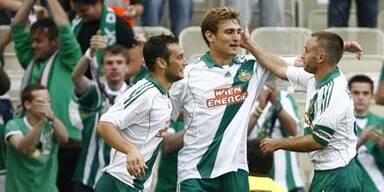 Rapid feiert klaren Sieg gegen Bulgaren