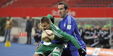 Rapid kämpft Schalke 2:1 nieder