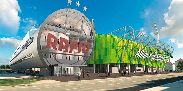 Stadion bringt Rapid Plus von 4 Mio. Euro