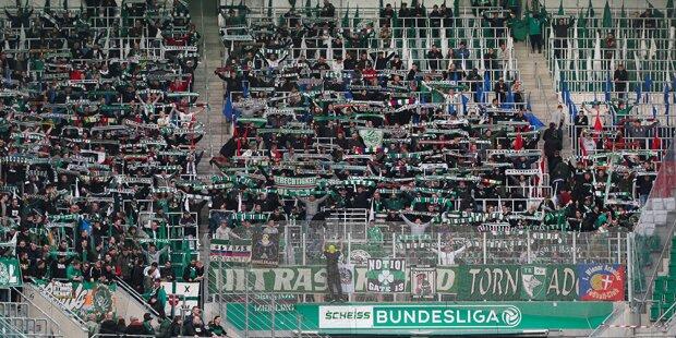Vor Derby: Austria verärgert Rapid-Fans
