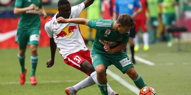 Rapid schlägt Salzburger Bullen mit 2:1