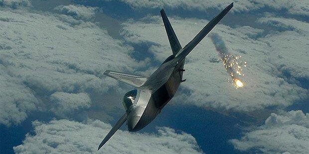 USA starten Luftschläge gegen IS in Syrien