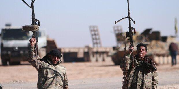 ISIS-Hauptstadt Raqqa eingekesselt