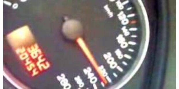 Mit 281 km/h auf der Bundesstraße