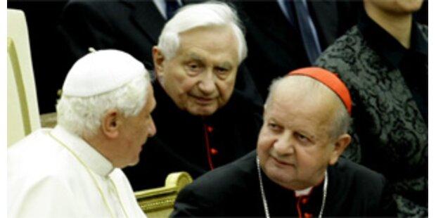 100.000 Euro für Geburtstagsfest von Papstbruder