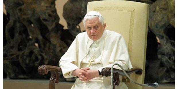 Sorge um Papst - Christmette verschoben