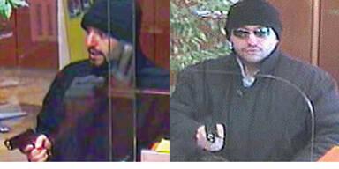 Polizei jagt Serien- Bankräuber