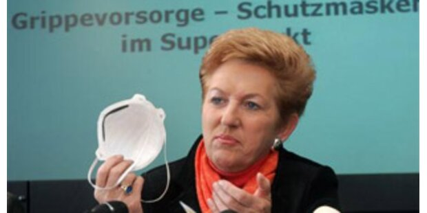 Rechnungshof kritisiert Grippemaske-Rückkauf
