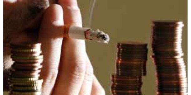 Zigaretten werden um 15,5 Prozent teurer
