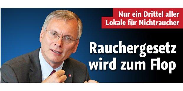 Verbot in Kraft: Österreich qualmt weiter