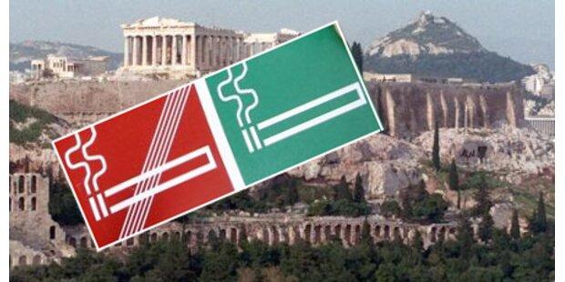 Bald Rauchverbot in Griechenland