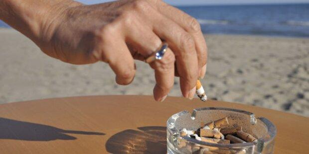 Cannes verhängt Rauchverbot am Strand