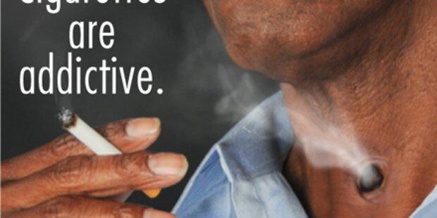 USA: Schock-Fotos gegen das Rauchen