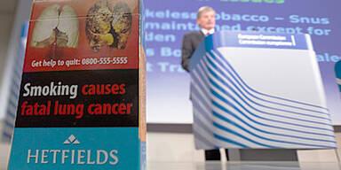EU will Schockbilder auf Zigaretten